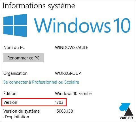 Compruebe la versión exacta de Windows 10