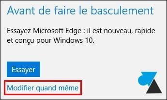 Windows 10: cambiar el navegador web predeterminado