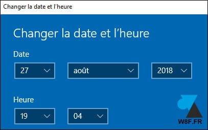 Windows 10: Cambiar la fecha y la hora del equipo
