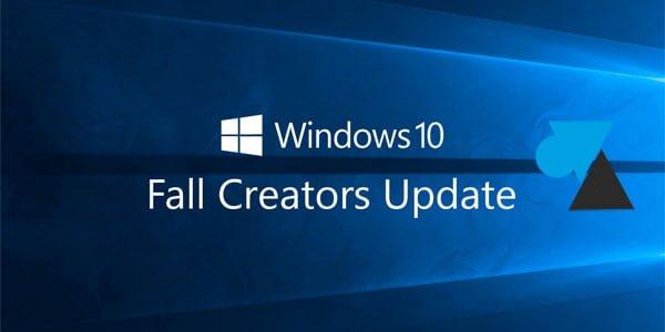Instalar la actualización de creadores de otoño de Windows 10 (1709) 1
