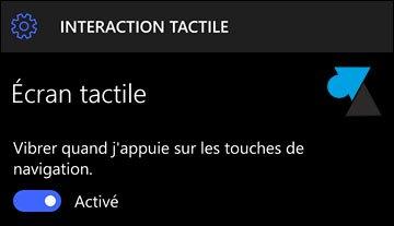 """Windows 10 Mobile: activar el """"modo guante"""