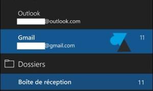 Windows 10 Mobile: añadir una cuenta de Google Gmail