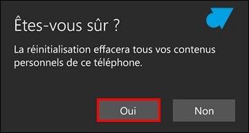 Windows 10 Mobile: restablecer el smartphone