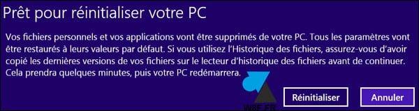 Eliminación y reinstalación de un equipo con Windows 8.1