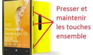 Nokia Lumia: reiniciar / restablecer Windows Phone 8 / 8.1