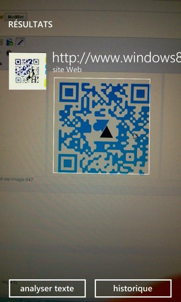 Windows Phone: usar un código QR