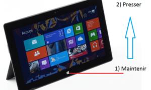 Microsoft Surface RT: Ctrl + Alt + Borrar