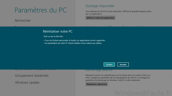 Windows 8 (RT): reinstalación completa