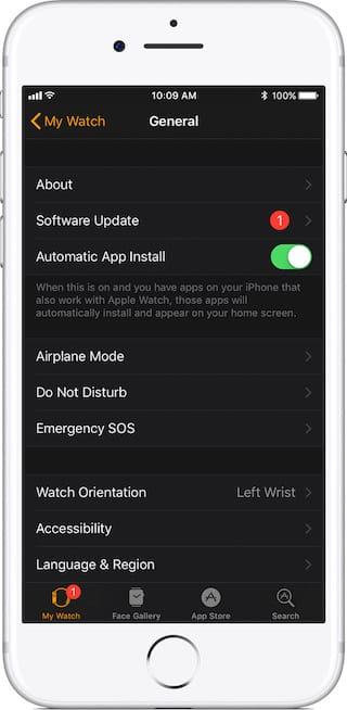 watchOS 4.1 disponible para todos los relojes Apple Watches