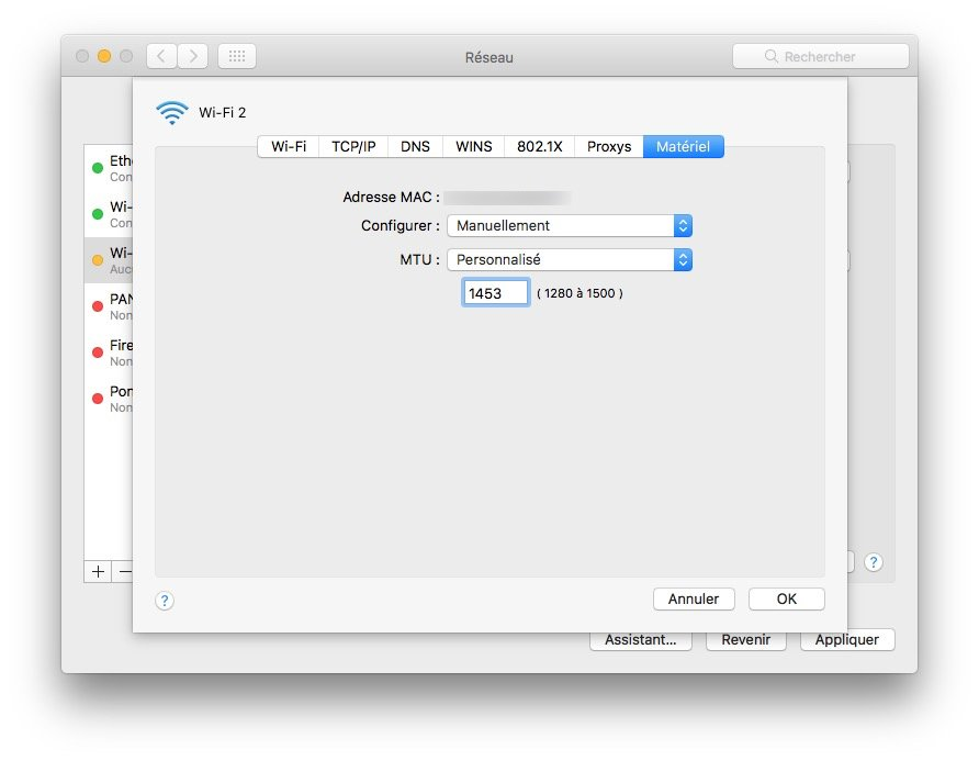 WiFi macOS Sierra (10.12): un problema? soluciones!