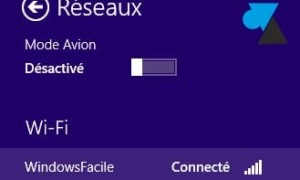 Windows 8 / 8.1: Conexión a una red inalámbrica (wifi)