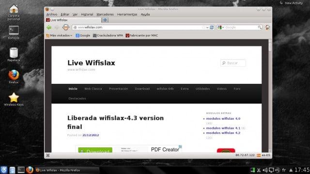 Versión final de Wifislax 4.3