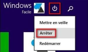 ¿Dónde ha ido el menú Inicio, Parar en Windows 8?