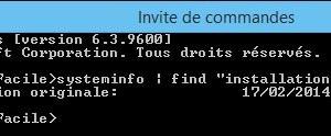 Buscar la fecha de instalación de Windows