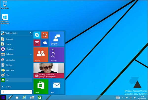 Instalar la vista previa técnica de Windows 10