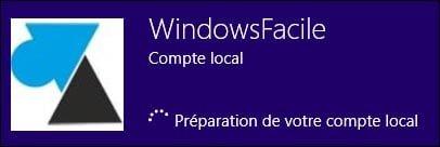 Cambiar de una cuenta de Microsoft a una cuenta local