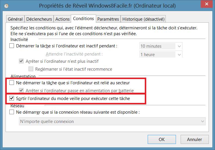 Uso de Windows 8 como despertador