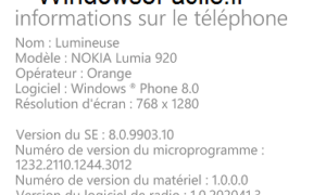 Windows Phone: muestra el número IMEI del smartphone