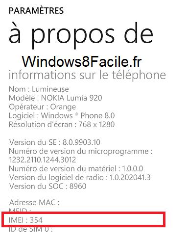 Windows Phone: muestra el número IMEI del smartphone