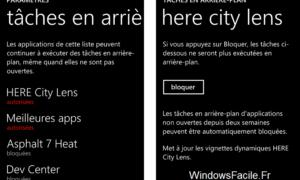 Windows Phone: Desactivar aplicaciones en segundo plano