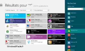 Windows Store: lista de todas las aplicaciones
