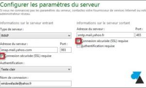 Windows Live Mail: agregar una dirección de Yahoo