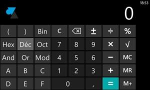 Una calculadora científica en Windows Phone 8