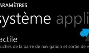 """Windows Phone 8: activar el """"modo guante""""."""