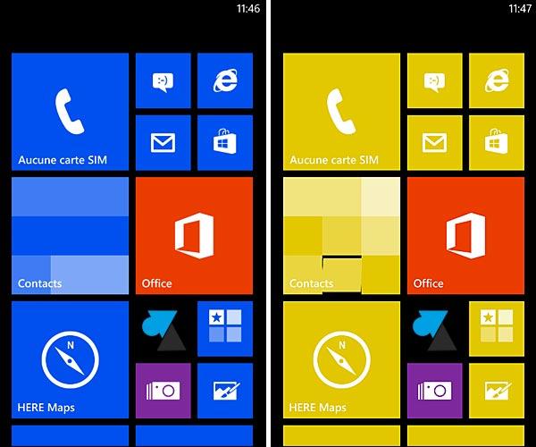 Windows Phone: cambiar el tema y los colores