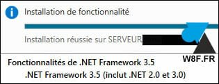 Instalar.NET Framework 2.0 en Windows Server 2016