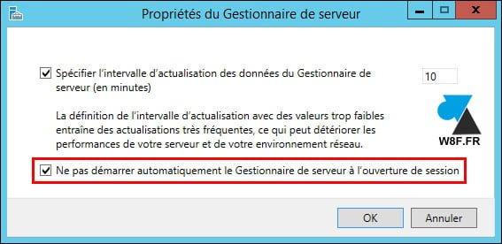 Windows Server: Desactivar el inicio automático del Administrador de servidores