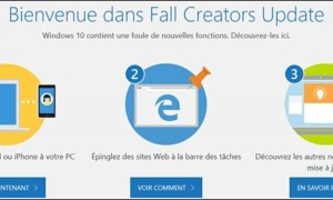 Descargue e instale la actualización de Windows 10 Fall Creators Update (1709)