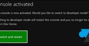 Xbox One: activa el Modo de Desarrollador