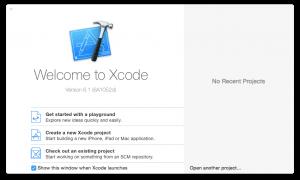 Cómo instalar Xcode Command Line Tools Yosemite (Mac OS X 10.10)