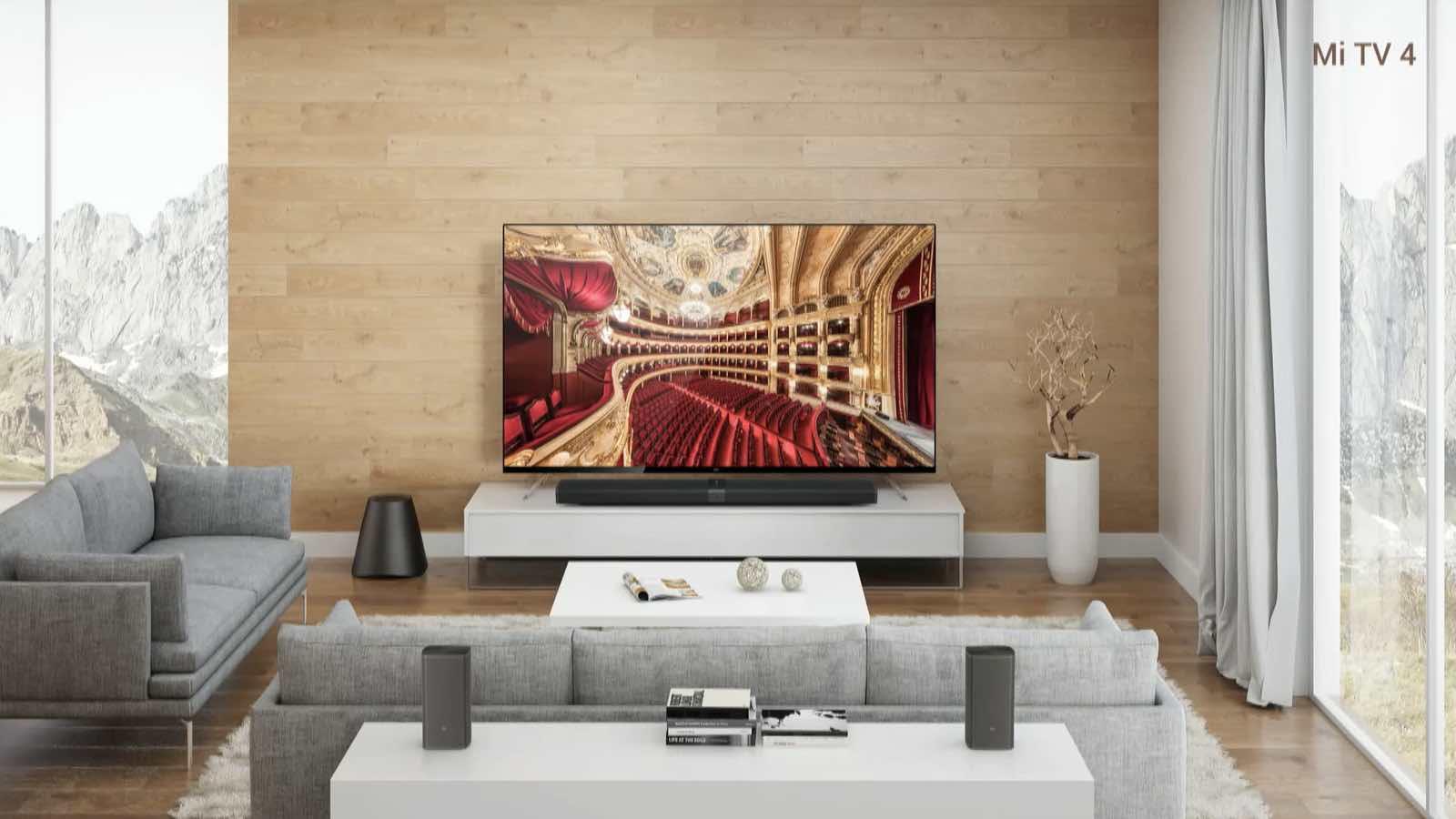 """CES 2017: Xiaomi presenta Mi TV 4, pantalla sin bordes """"más delgada que el iPhone 7""""."""