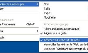Quitar todos los iconos del escritorio de Windows