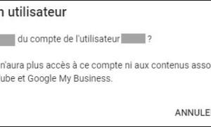 YouTube: agregar y quitar administradores a una cadena