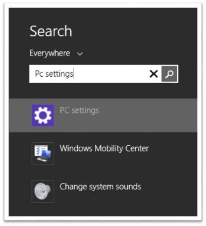 Cambiar o establecer programas y aplicaciones predeterminados en Windows 8.1 1