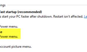 Mostrar las opciones de Hibernar en el botón de encendido en Windows 8