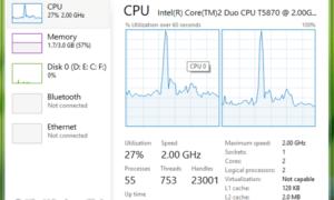 Configuración de la configuración de varios núcleos en Windows 8/10