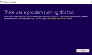 Corregido error 0x80072f76 - 0x20016 para Media Creation Tool en Windows 10