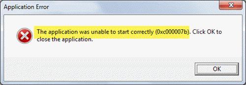 Fix Error Code 0xC00000007B STATUS INVALID IMAGE FORMATO 1