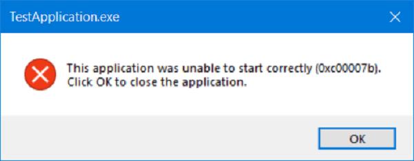 La aplicación no se ha podido iniciar correctamente (0xc0000007b) 1