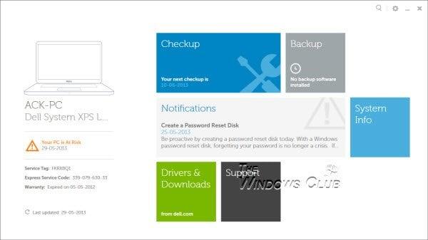 El software del Centro de asistencia de Dell ayuda a mantener el PC de Dell actualizado y en funcionamiento de manera eficiente. 2