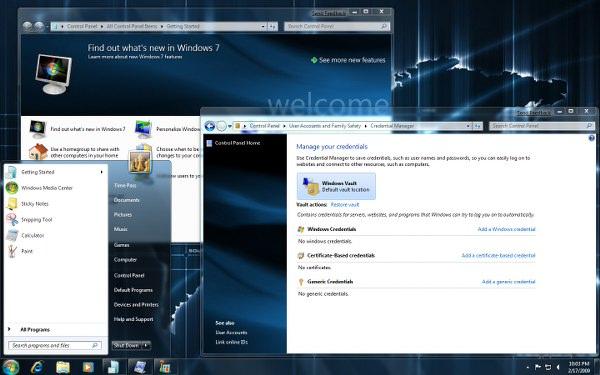 Tema de OneWorld para Windows 7 1