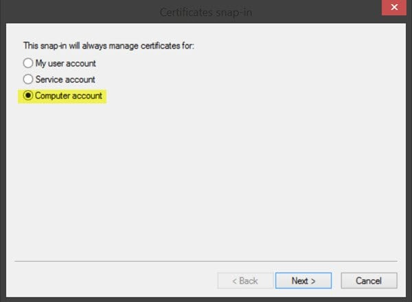 Managing trusted root certificates in Windows 10/8 2