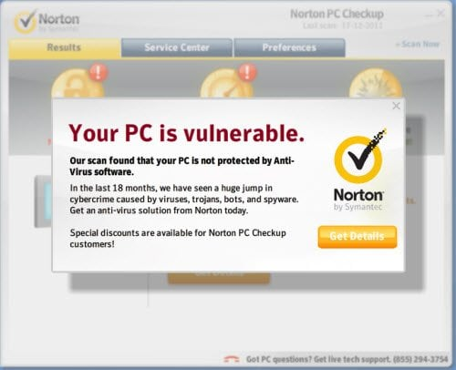 ¿Podemos confiar realmente en Norton PC Checkup Tool! 2