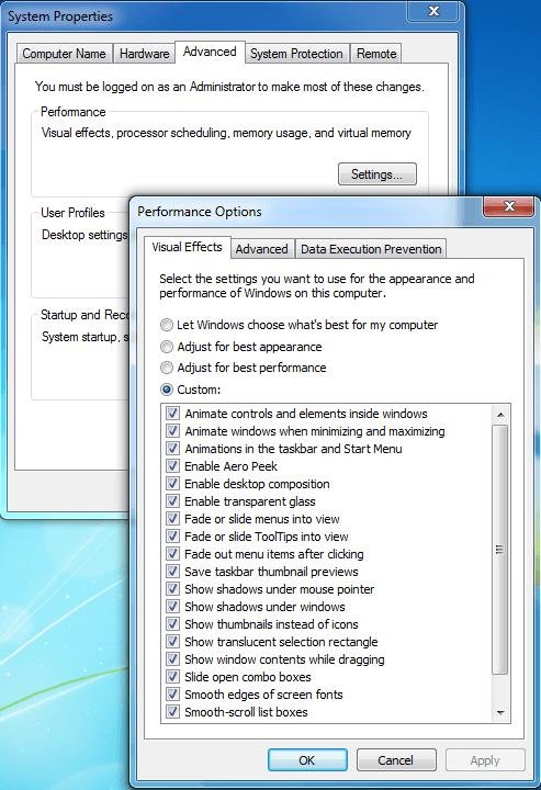 Consejos para principiantes para optimizar Windows para un mejor rendimiento