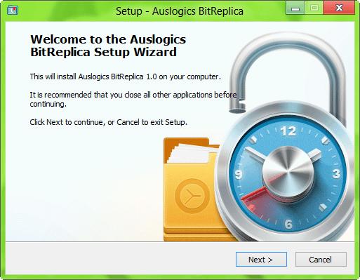 Haga una copia de seguridad de los datos que le gustan fácilmente con Auslogics BitReplica 1