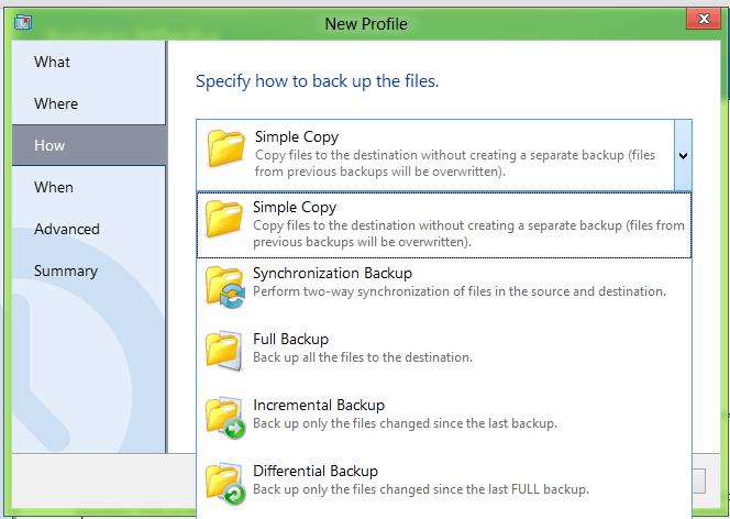 Haga una copia de seguridad de los datos que le gustan fácilmente con Auslogics BitReplica 4